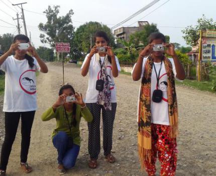 Girls with Cameras: Captured &Framed!