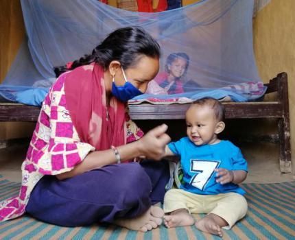 Harikala faces motherhood with a stronger mindset