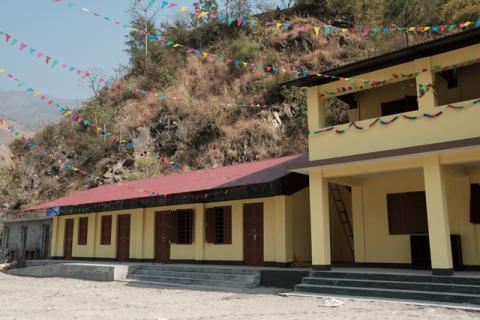 New School Building of Shanti Buddha School