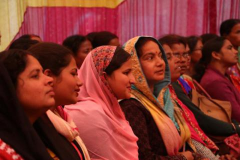 DEO hosted the first female teachers' meet in Saptari