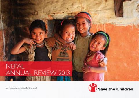 Cover of the Annual Review 2013 Nepa